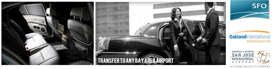 Limousine Service - Airport Transfer - SFO OAK SJC